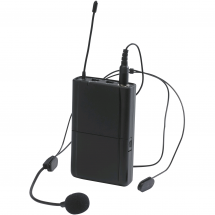 Audiophony CR-12AHEADset beltpack transmitter and headset