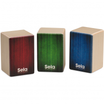 Sela SE 108 Mini Cajon shaker set (set of 3)