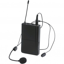 Audiophony CR80-HEADSET beltpack transmitter and headset