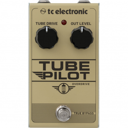 TC Electronic Tube Pilot Overdrive with 12AX7 tube