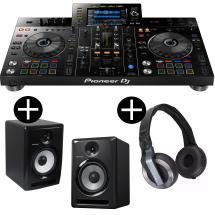 Pioneer XDJ-RX2 + S-DJX80 (set of 2) + HDJ 500
