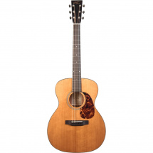 Recording King RO-T16 Torrefied Red Spruce Top 000 steel-string guitar