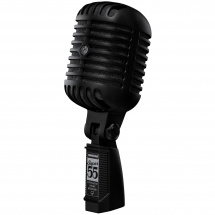 Shure Super 55 Deluxe Pitch Black dynamic microphone