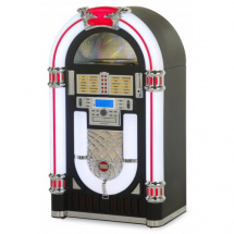 Ricatech RR2000 Classic LED Jukebox, black
