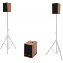 Schertler TIM Wood speaker set, wood