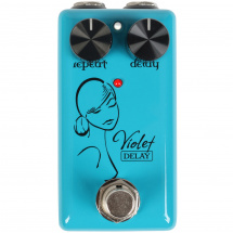(B-Ware) Red Witch Violet Delay Effektpedal