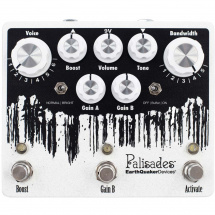 EarthQuaker Devices Palisades Overdrive V2 effects pedal