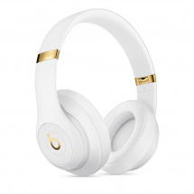 Beats By Dre Studio3 Wireless White headphones with ANC