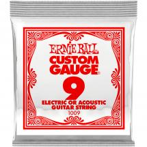 Ernie Ball 1009 Plain Steel .009 guitar string (set of 6)