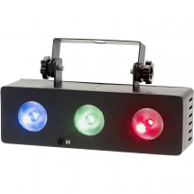 Contest NIGHTCOLOR 3x 1W RGB LED wash projector