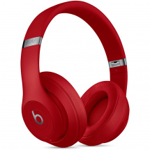 Beats By Dre Studio3 Wireless Red headphones with ANC