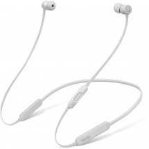 Beats By Dre BeatsX Matte Silver Bluetooth in-ear headphones