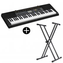 Casio CTK-2500 keyboard with 61 keys including stand