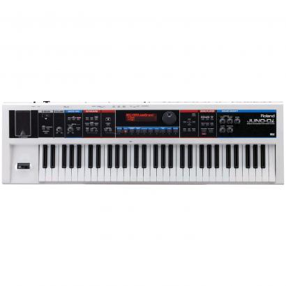 Roland Juno Di WH Synthesizer, weiß