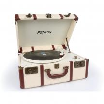 Fenton RP145 record player in retro case