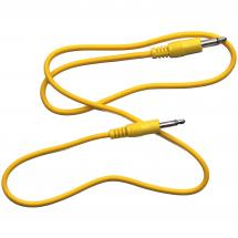Analogue Solutions patch cable, mono mini jack, yellow, 60 cm (set of 10 cables)