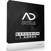 XLN Audio ADPak expansion pack for Addictive Drums 2