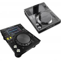 Pioneer XDJ-700 tabletop media player + dust cover