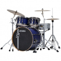 Tama ML52HZBN2-SBV Superstar HD Duo Snare Satin Blue shell set