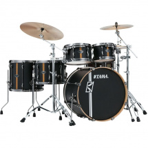 Tama ML52HZBN2-FBV Superstar HD Duo Snare Flat Black shell set