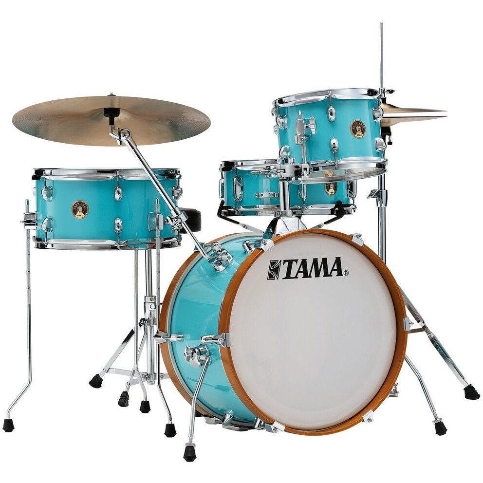 Tama LJK48S AQB Club Jam Aqua Blue 4 piece shell set