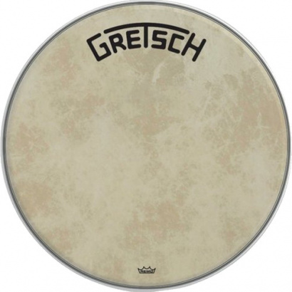 Gretsch Drums Broadkaster Logo Fiberskyn 24-inch resonant head