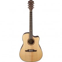 Fender F-1000CE Natural Walnut electro-acoustic guitar