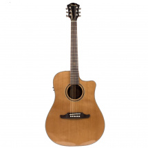 Fender F1020SCE Natural Walnut electro-acoustic guitar