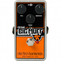 Electro Harmonix Op-Amp Big Muff Pi fuzz effects pedal
