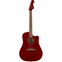 Fender Redondo Classic Hot Rod Red Metallic with gig bag