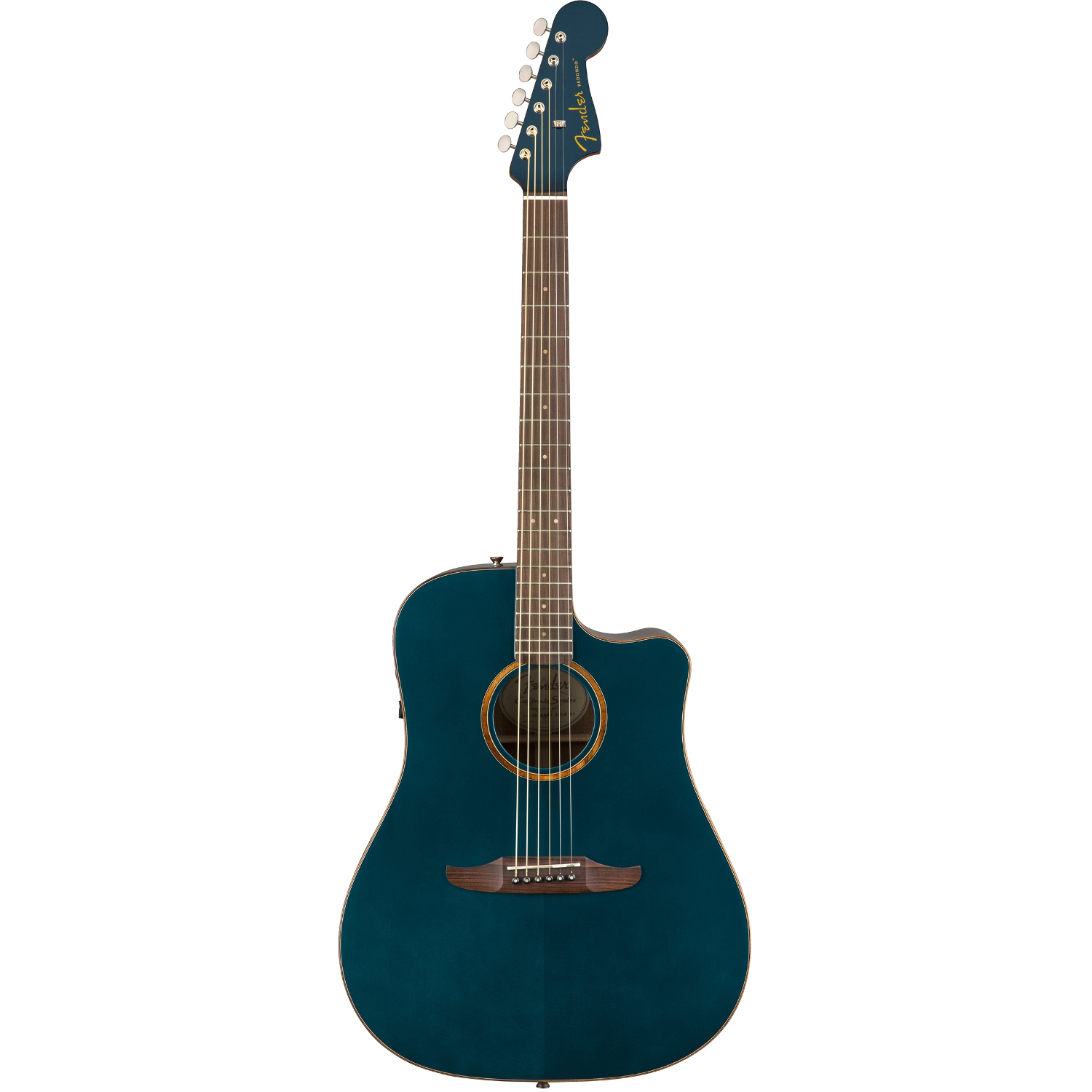 Fender Redondo Classic Cosmic Turquoise with gig bag