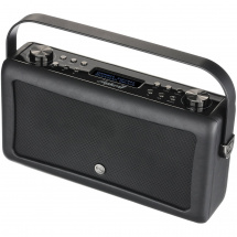 (B-Ware) Ricatech View Quest Hepburn MKII Radio mit Bluetooth, schwarz