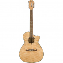 Fender FA-345CE electro-acoustic steel-string guitar, Auditorium Natural