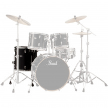 Pearl VBL1616F/C234 Vision Birch floor tom, 16 x 16-inch, Black Ice