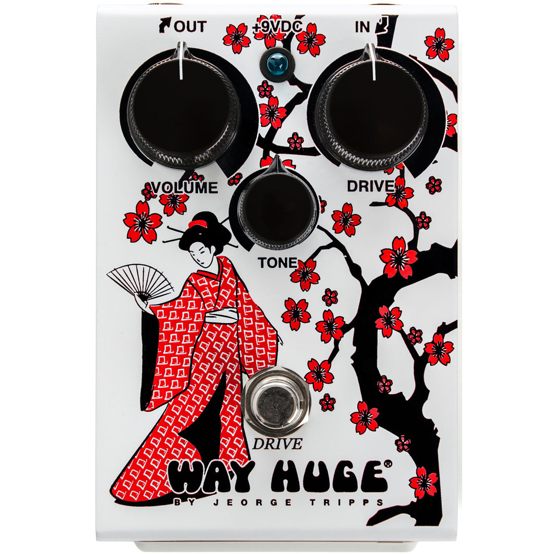 Way Huge WHE302GR Geisha Drive Limited Edition overdrive effects pedal