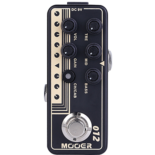 Mooer Micro Preamp 012 US Gold 100 overdrive effects pedal