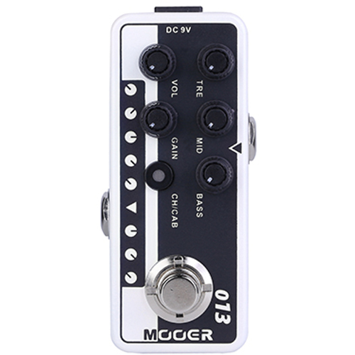 Mooer Micro Preamp 013 Matchbox overdrive effects pedal