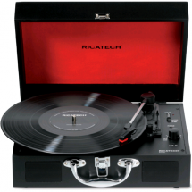 Ricatech RTT25 Executive Bluetooth turntable, black