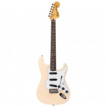 (B-Ware) Squier Vintage Modified 70s Stratocaster Vintage White E-Gitarre, weiß