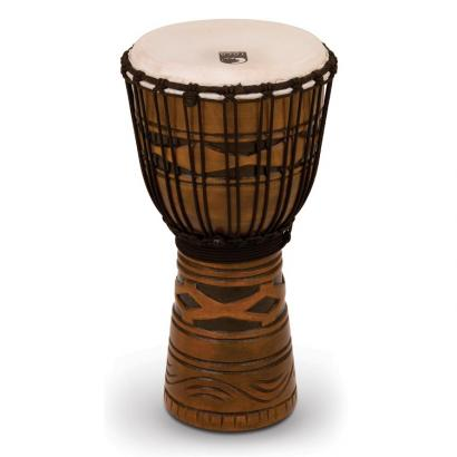 Toca TODJ-10AM 10 Zoll Origins Series Djembe, African Mask