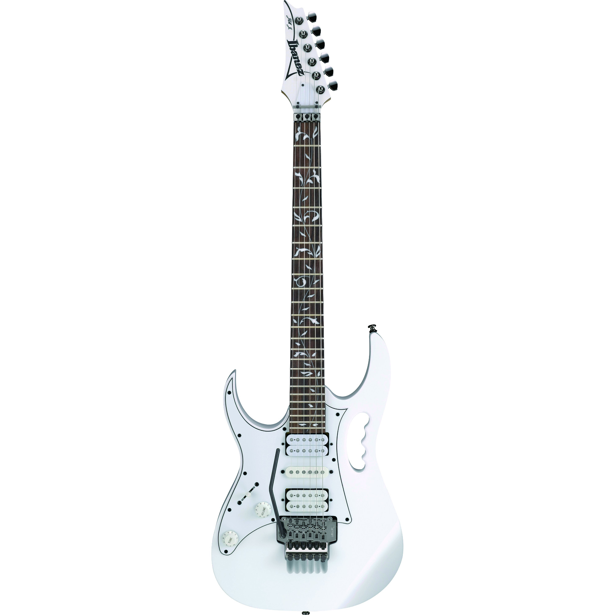 Ibanez JEMJRL WH left handed electric guitar, white