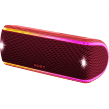 Sony SRS-XB31 Bluetooth speaker, red