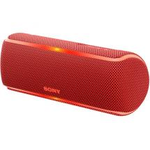 Sony SRS-XB21 Bluetooth speaker, red