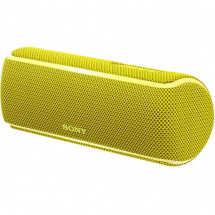 Sony SRS-XB21 Bluetooth speaker, yellow