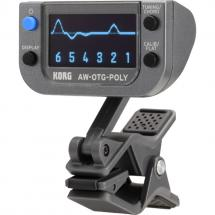 Korg AW-OTG-POLY polyphonic clip-on tuner for guitar