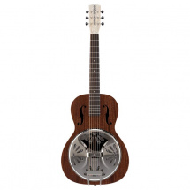 Gretsch G9200 Boxcar Round-Neck Resonator Gitarre, naturell