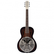 Gretsch G9220 Bobtail Round-Neck AE 2-Color Sunburst Resonator Gitarre