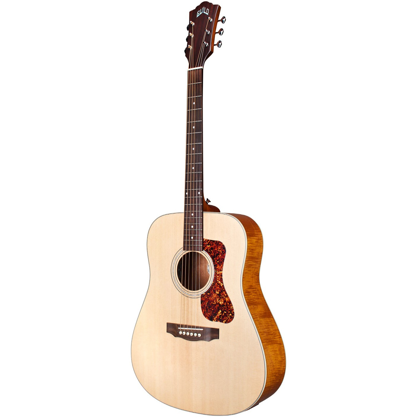 Guild Westerly Collection D 240E FM Flamed Mahogany, with gig bag