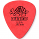Dunlop Tortex Standard 0.50mm Plektrum rot, 0,5mm