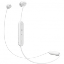 Sony WI-C300 Bluetooth in-ear headphones, white